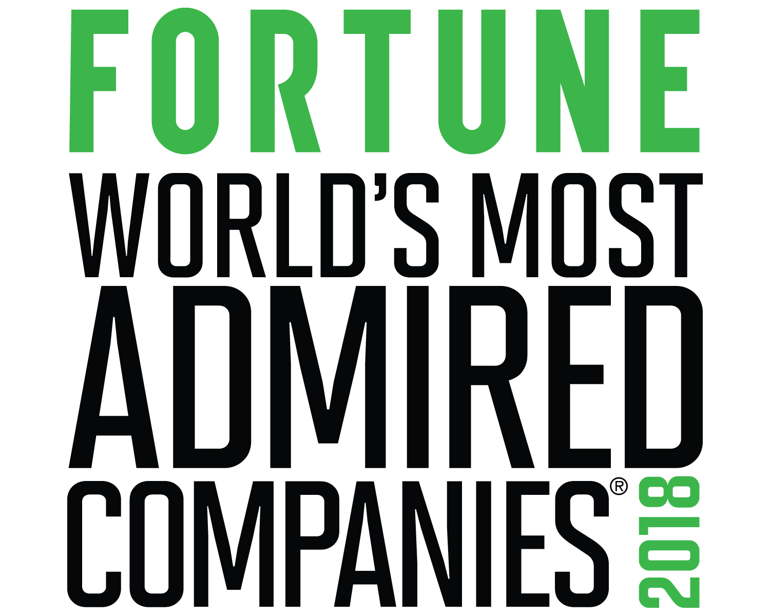 World's Most Admired Companies 2016 logo